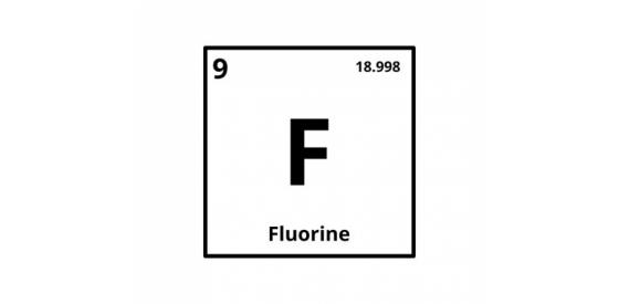 Fluorine element symbol