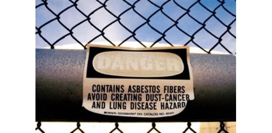 Asbestos in drinking water