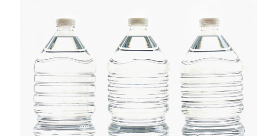 Styrene is used in plastic products like water bottles and can be released into waterways by factories.