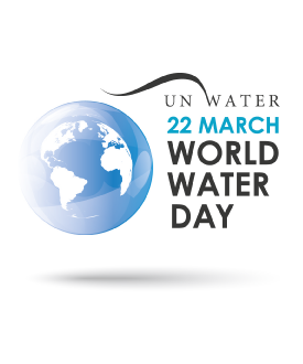 World Water Day 22nd March logo
