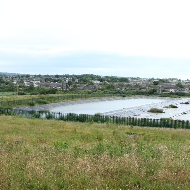 Landfill Leachate Pond