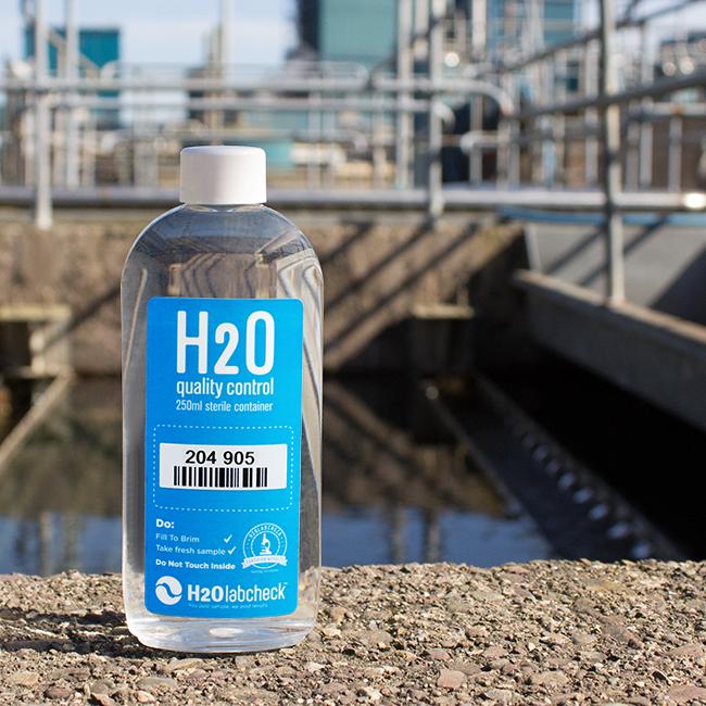 sampling bottle, industrial water storage