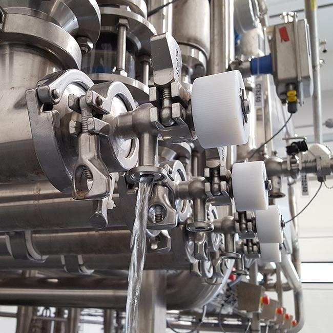 Water distillation equipment