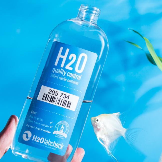 H2O labcheck home Aquarium water quality test