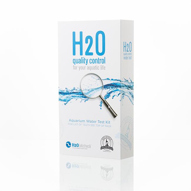 H2O home aquarium test kit closed