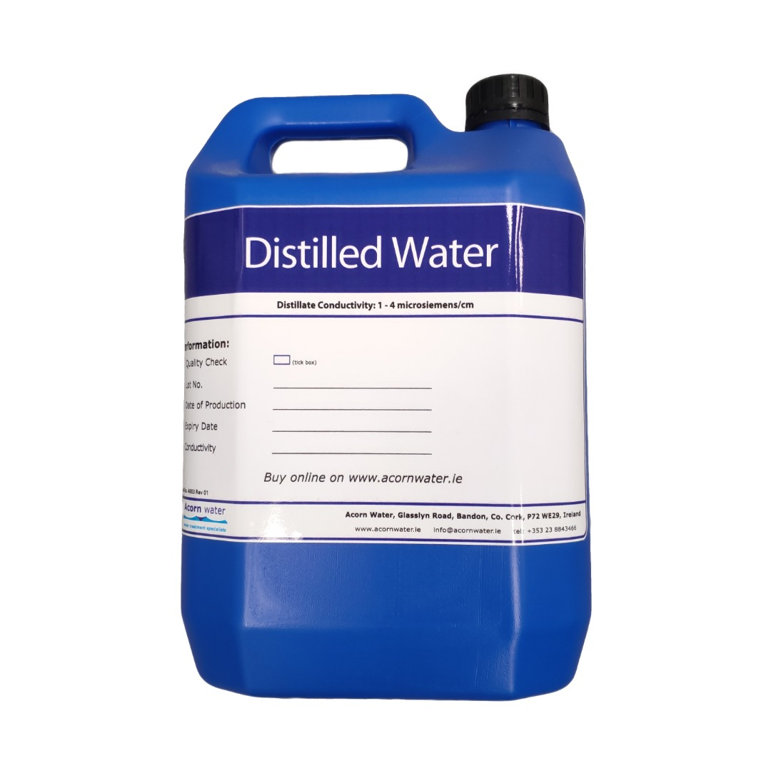 5 litre distilled water bottle