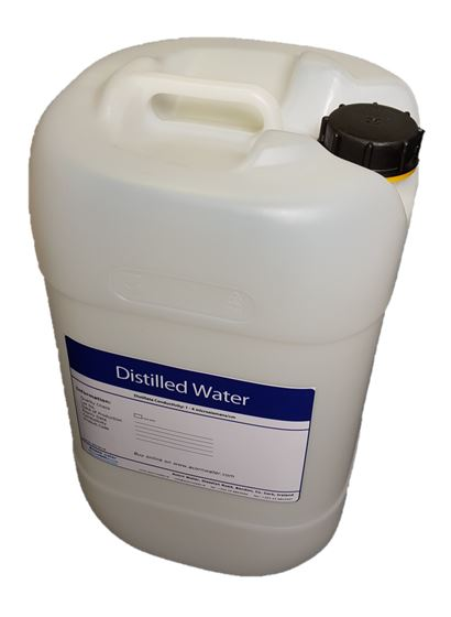25 litre distilled water bottle