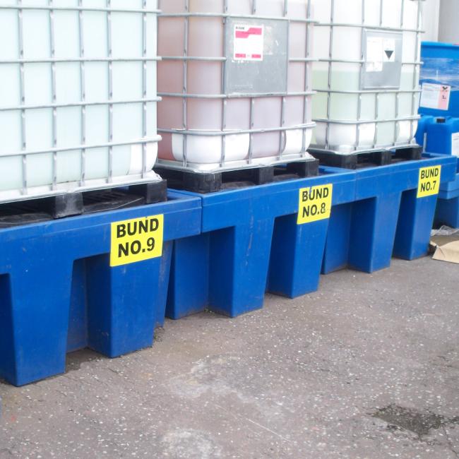Bund Water Contamination Test