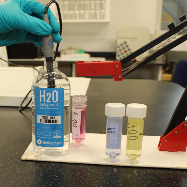 Standard Chemical Check - Lab Sampling Kit For Well Water